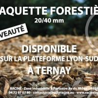 Vente de plaquettes forestières sur la plateforme LYON SUD à Ternay. Le paillage de vos massifs permet de maintenir l'humidité